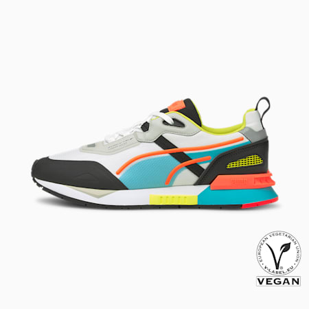 Mirage Tech Trainers, Puma White-Puma Black, small