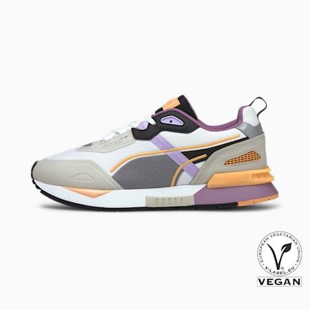 Mirage Tech Sneaker, Puma White-Gray Violet, small