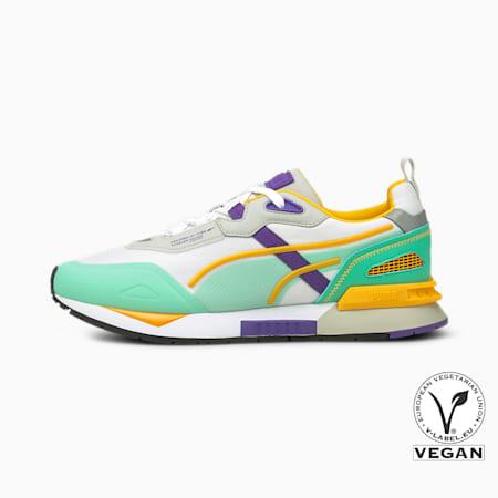 Mirage Tech Sneaker, Puma White-Biscay Green, small