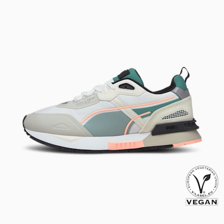 Mirage Tech Trainers, Puma White-Vaporous Gray, small