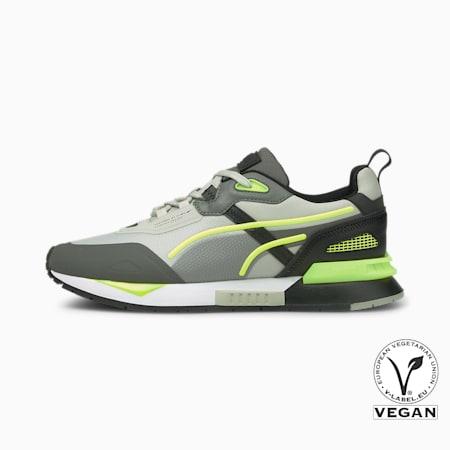Mirage Tech Sneaker, Puma White-Puma Black-Yellow Alert, small