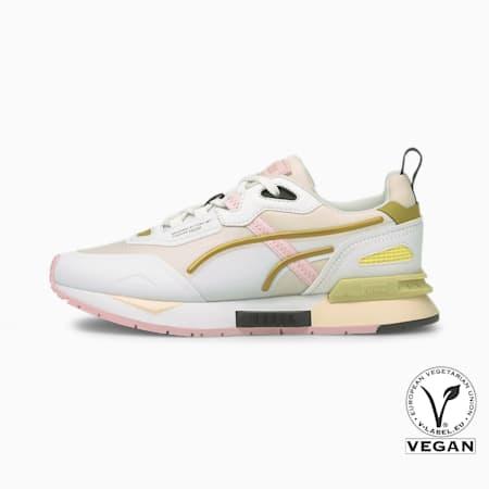 Mirage Tech Sneaker, Pearl-Puma White-Puma Team Gold, small