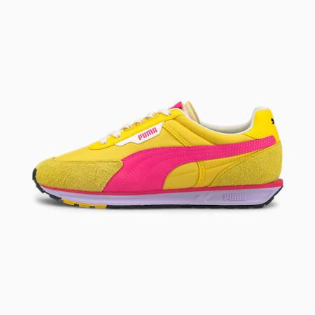 Zapatos deportivos Low Rider Vintagepara mujer, Super Lemon-Glowing Pink, pequeño