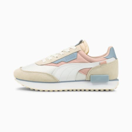 Future Rider Soft Women's Trainers, Ivory Glow-Lotus, small-GBR