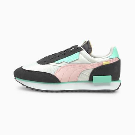 Future Rider Soft Damen Sneaker, Puma White-Ebony, small
