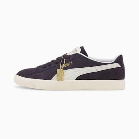 Suede Vintage Rudolf Dassler Legacy Unisex Sneakers, Puma New Navy-Puma White-Eggnog, small-IND