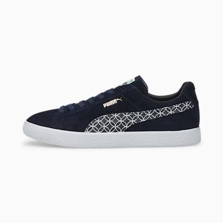 Zapatos deportivos Suede VTG MIJ Sashiko, Intense Blue-Intense Blue, pequeño