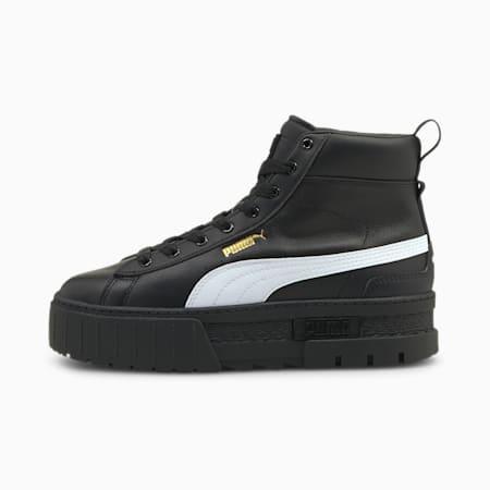 Mayze Mid Damen Sneaker, Puma Black-Puma White, small