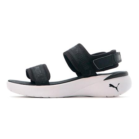 スポーティ サンダル ウィメンズ, Puma Black-Puma White, small-JPN