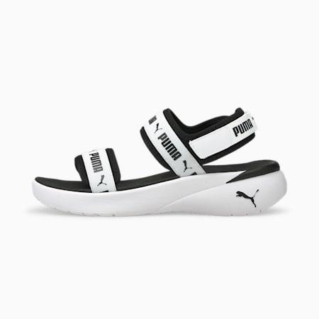 Sportie Women's Sandals, Puma White-Puma Black, small-SEA