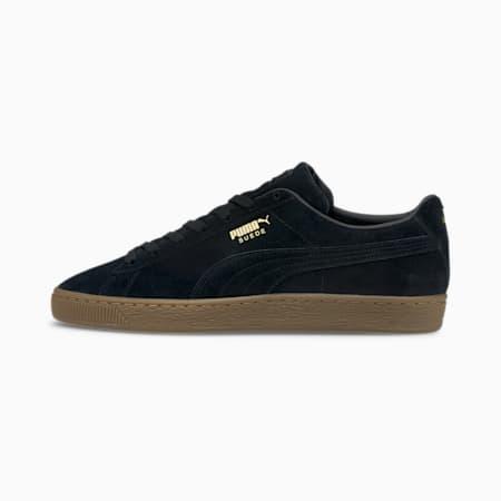 Zapatos deportivos Suede Gum, Puma Black-Gum, pequeño
