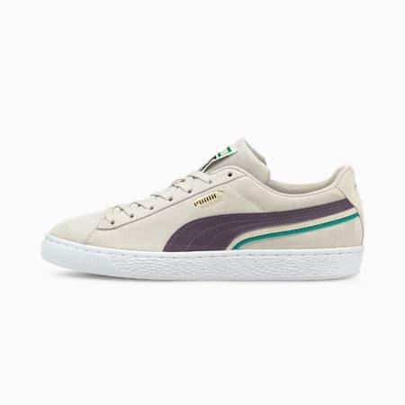 Zapatos deportivos Triplex de gamuza, Nimbus Cloud-Sweet Grape-Puma White, pequeño