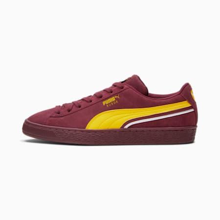 Zapatos deportivos Triplex de gamuza, Burgundy-Maize-Puma White, pequeño