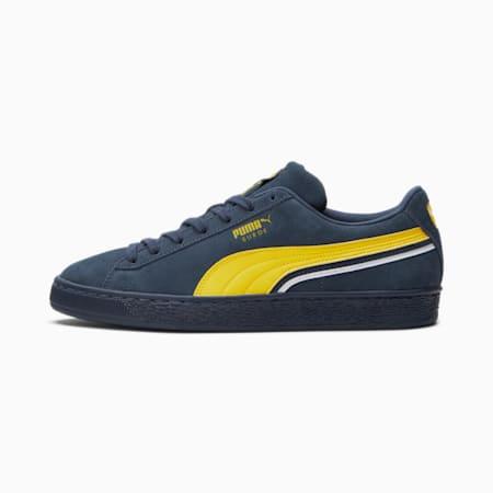 Zapatos deportivos Triplex de gamuza, Peacoat-Maize-Puma White, pequeño