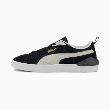 Suede Bloc Trainers, Puma Black-Ebony, small-GBR