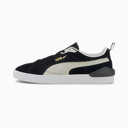 Zapatos deportivos Suede Bloc para hombre, Puma Black-Ebony, pequeño