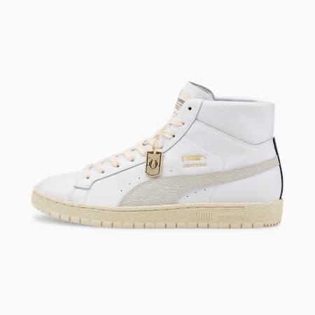 PUMA x UNIVERSAL Rudolf Dassler Legacy Unisex Sneakers, Puma White-Eggnog, small-IND