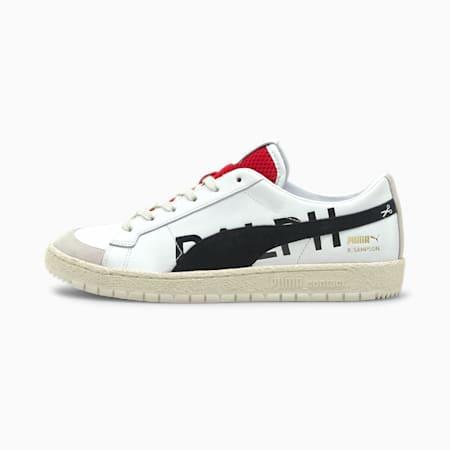 Zapatos deportivos Ralph Sampson 70 Low Draft, White-Nimbus Cloud- Red, pequeño