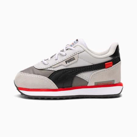 PUMA x NINTENDO Future Rider NES™ Babies Sneaker, Gray Violet-Puma Black, small