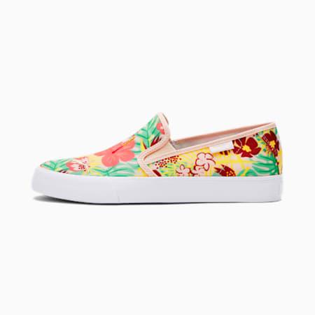 Zapatos sin cordonesBari CatTropicalpara mujer, Cloud Pink-Puma White, pequeño