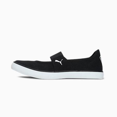 Pamela Slip-On Women's Shoes, Puma Black-Puma White, small-IND