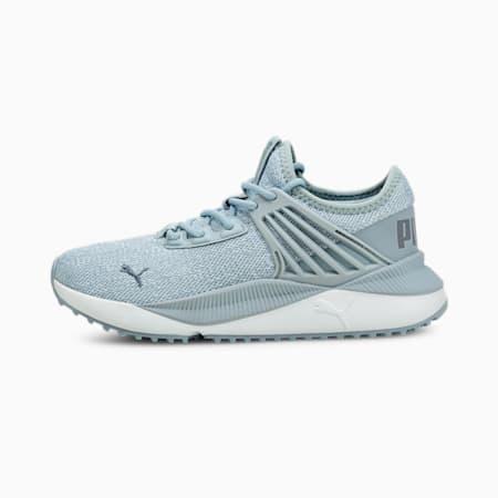 Zapatos deportivos de punto Pacer Future JR, Blue Fog-White-China Blue, pequeño