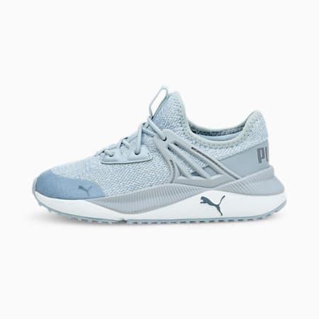 Zapatos deportivos Pacer Future Knitpara niño pequeño, Blue Fog-Puma White-China Blue, pequeño