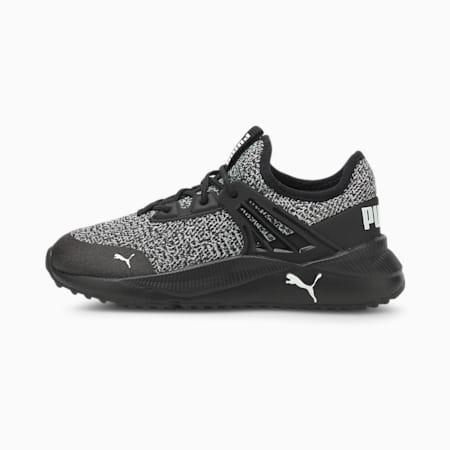 Zapatos deportivos Pacer Future Knitpara niño pequeño, Puma Black-Puma White, pequeño