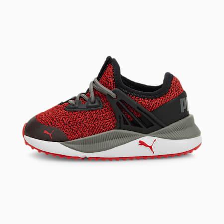 Zapatos de punto Pacer Futurepara bebé, High Risk Red-Puma Black, pequeño