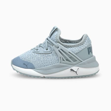 Zapatos de punto Pacer Futurepara bebé, Blue Fog-White-China Blue, pequeño