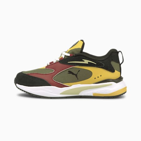 Time4Change RS-Fast Kids' Trainers, Grape Leaf-Mineral Yellow, small-GBR