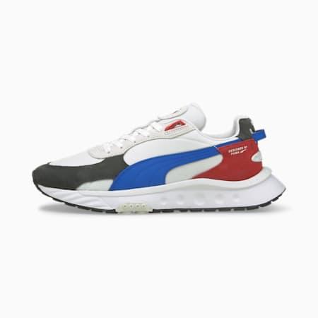 Wild Rider Rollin' Sneakers, Ebony-Puma White, small