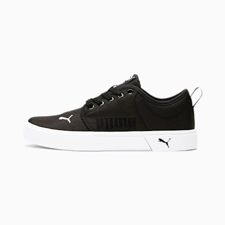 Zapatos El Rey Lace JR, Puma Black-Puma White, pequeño