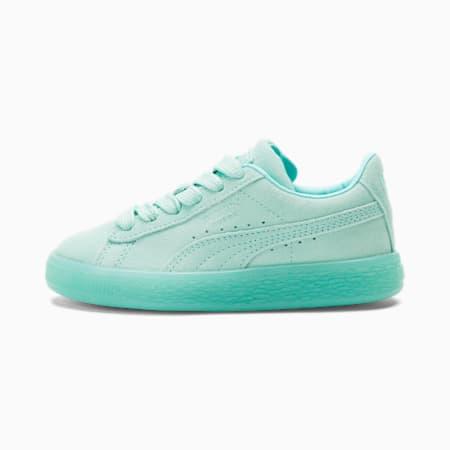 Zapatos Suede Classic Mono para niño pequeño, ARUBA BLUE, pequeño
