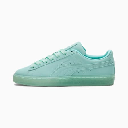 Zapatos deportivos Suede Classic Mono Iced para mujer, ARUBA BLUE, pequeño