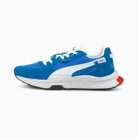 Wild Rider Vintage Unisex Sneakers, Future Blue-Bluemazing, small-IND