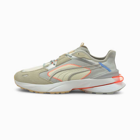 PUMA x PWRFRAME OP-1 Cyber Unisex Sneakers, High Rise-Vaporous Gray-Puma White, small-IND