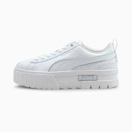 Mayze Metal Women's Shoes, Puma White, small-IND