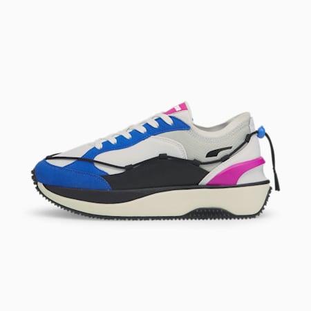 Damskie buty sportowe Cruise Rider Lace, Puma White-Bluemazing, small
