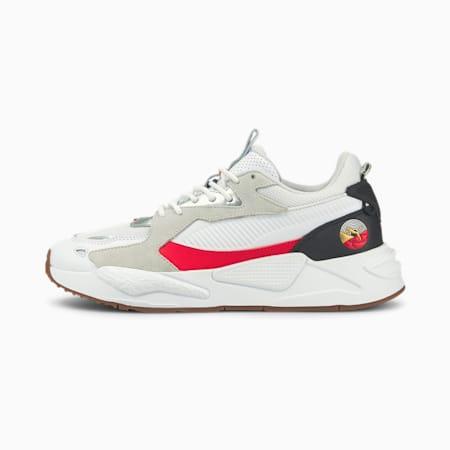 Zapatos deportivos RS-Z Art of Sport para hombre, Puma White-Puma Black-High Risk Red, pequeño