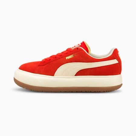 Damskie buty sportowe Suede Mayu UP, Grenadine-Marshmallow, small