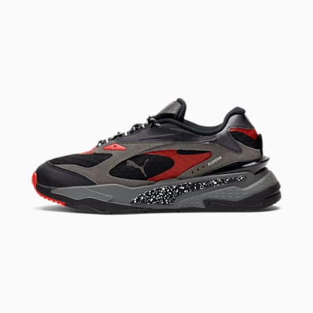 RS-Fast Airplane Mode Sneakers JR, Puma Black-CSTLRK-Hgh Rsk Rd, small