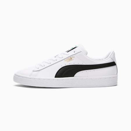 Zapatos deportivos Basket Classic XXIpara mujer, Puma White-Puma Black, pequeño