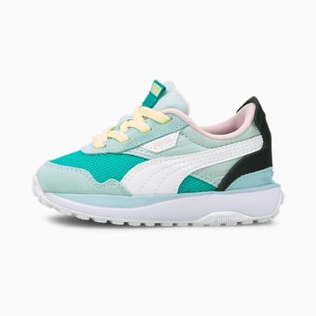 Cruise Rider sneakers baby's, Viridian Green-Aquamarine, small