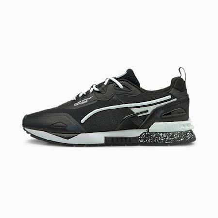 Zapatos deportivos Mirage Tech Bubble para hombre, Puma Black-Puma White, pequeño