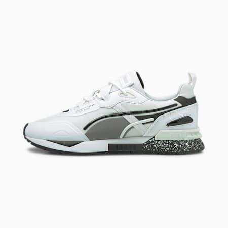 Zapatos deportivos Mirage Tech Bubble para hombre, Puma White-Puma Black, pequeño