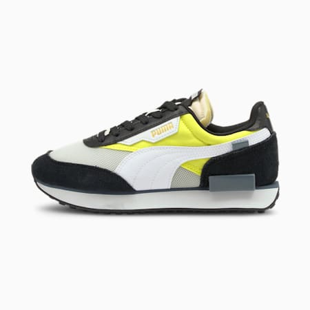 Future Rider Splash Kid's Sneakers, Nrgy Yellow-Puma White, small-IND