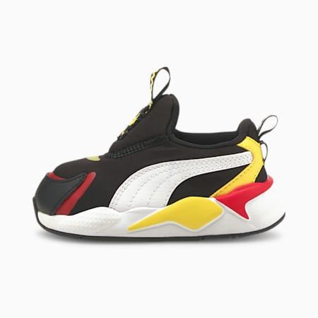 PUMA x PEANUTS RS-X³ Slip-On Baby Sneaker, Puma Black-Puma White, small