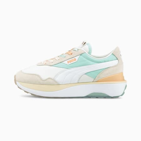 Cruise Rider Gloaming Women's Shoes, Puma White-Eggshell Blue, small-IND