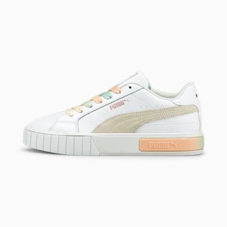 Cali Star GL Damen Sneaker, Puma White-Ivory Glow-Eggshell Blue, small